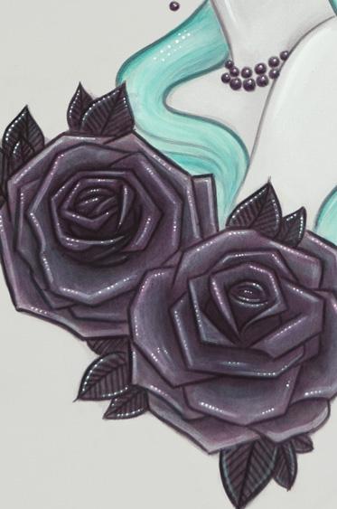 Candy Print Detail1