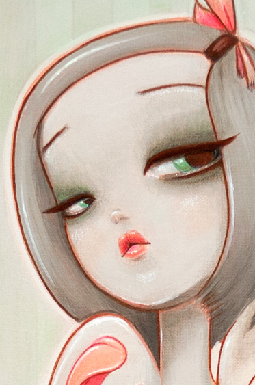 Margot Tenenbaum Print Detail1