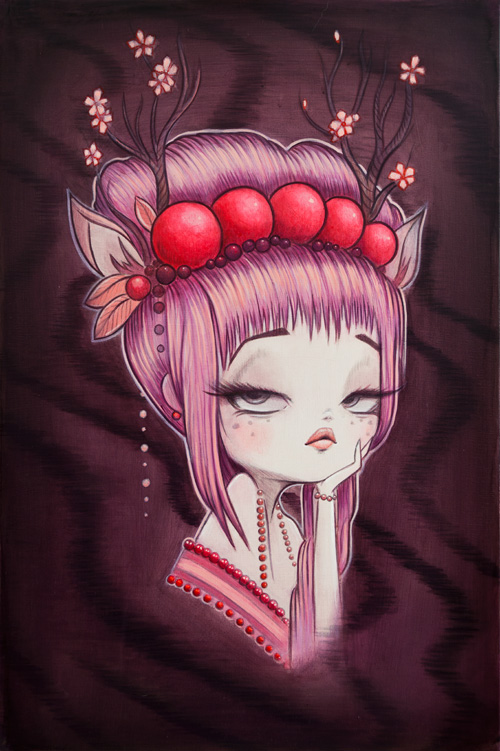 Original Painting : My Little Dear