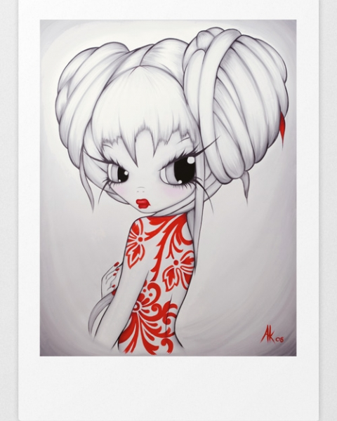 Limited Edition Prints 'Chinese Holly'